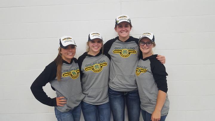 Colorado Air Rifle Team At Nationals T-Shirt Photo