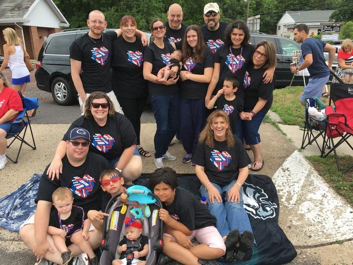 Nona's Crew 07/04/2016 T-Shirt Photo