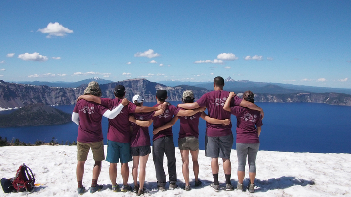So Leong Road Trip To Crater Lake T-Shirt Photo