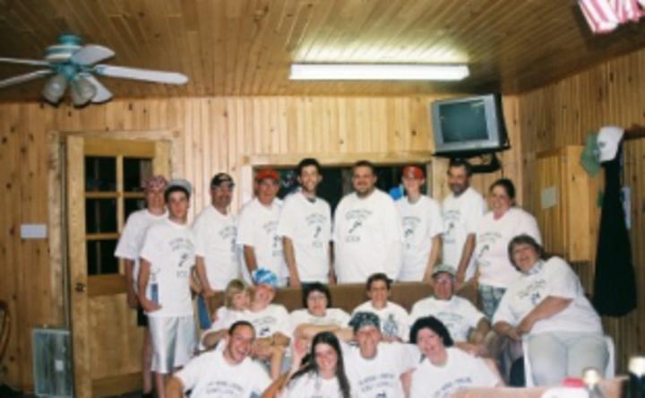 2nd Annual Canadian Fishing Olympics T-Shirt Photo