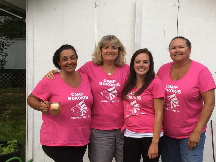 The Pink Ladies Of Camp Sokokis T-Shirt Photo