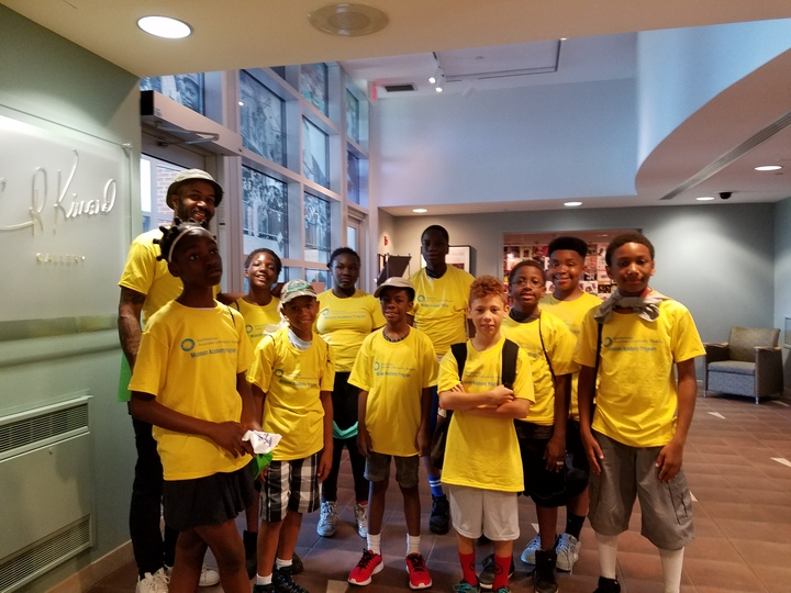 Summer Academy On Their Way To The Smithsonian Folklife Festival T-Shirt Photo