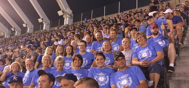 Twedt Cousins Royals Reunion T-Shirt Photo