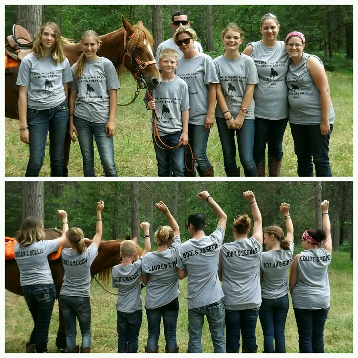 Lone Willow Farm: Riding & Rescue T-Shirt Photo