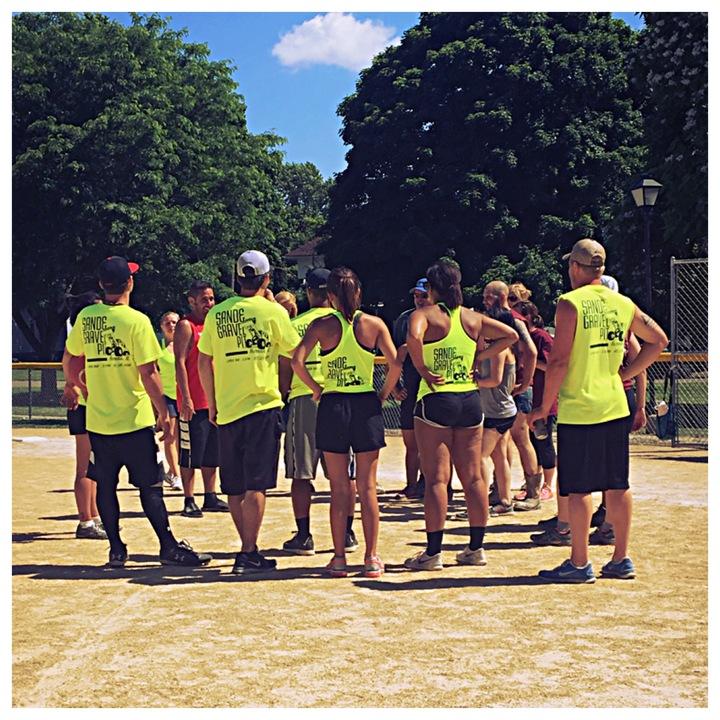 Roses From Linda Kickball Tournament T-Shirt Photo