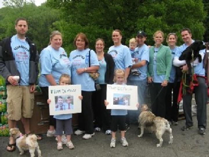 Team De Palo At The Arthritis Walk T-Shirt Photo