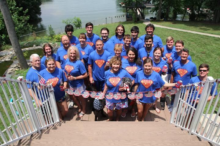 Lakeside Family Reunion T-Shirt Photo