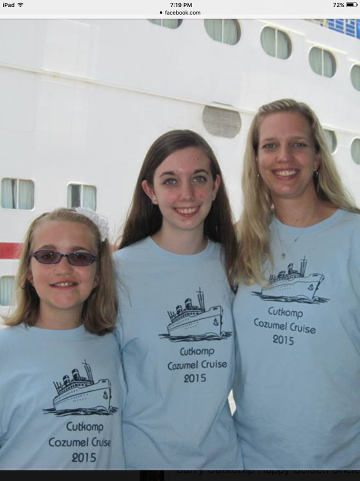 1st Family Cruise T-Shirt Photo