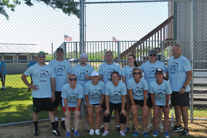 Ccrm Softball Tournament: Team Beavers  T-Shirt Photo