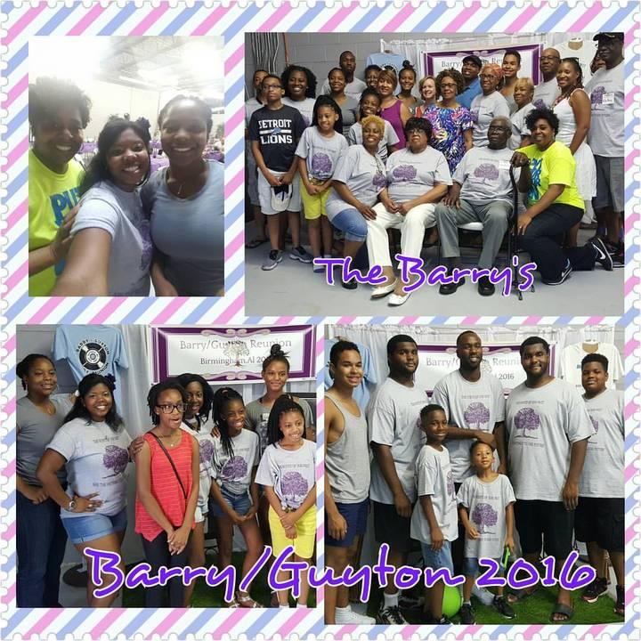 Barry/Guyton Reunion 2016 T-Shirt Photo