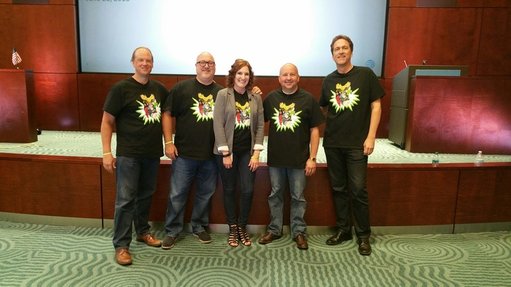 Ato Agility & Innovation Superheroes T-Shirt Photo