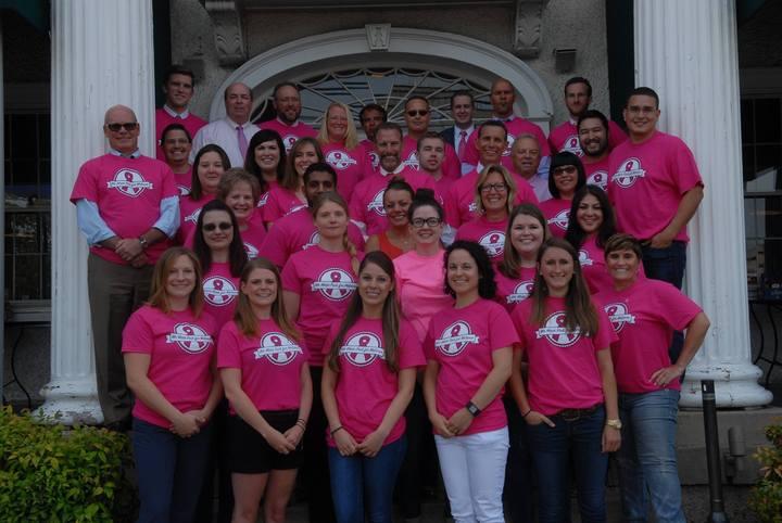 We Wear Pink For Melanie  T-Shirt Photo