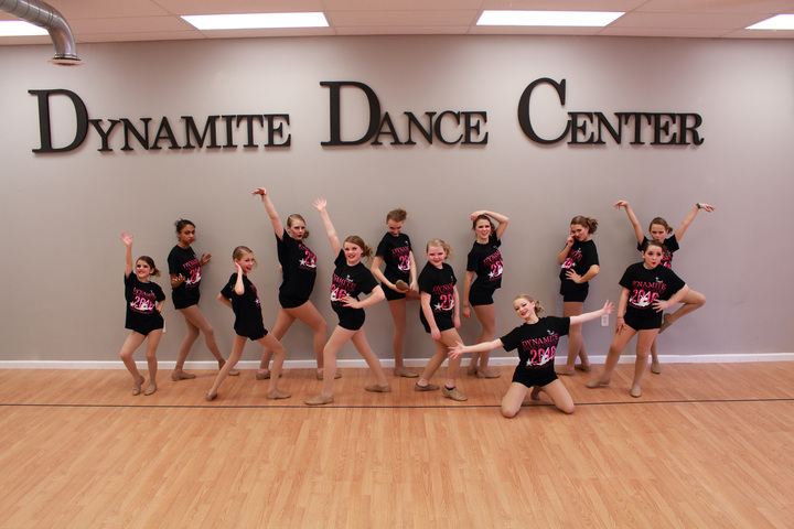 0128c6481 The Original Dynamite Dance Team! T-Shirt Photo.