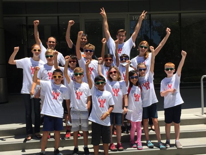 Code Irvine! T-Shirt Photo
