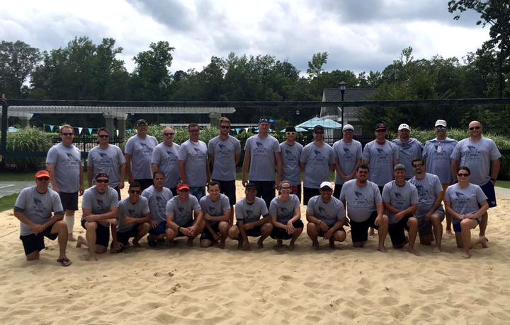 Magnolia Green Volleyball Tournament T-Shirt Photo