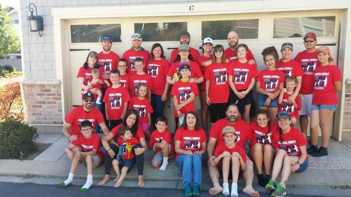 Powell Family Reunion T-Shirt Photo