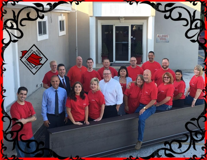 Allstate Steel Loving Their Custom Ink Casual Friday Shirts!! T-Shirt Photo