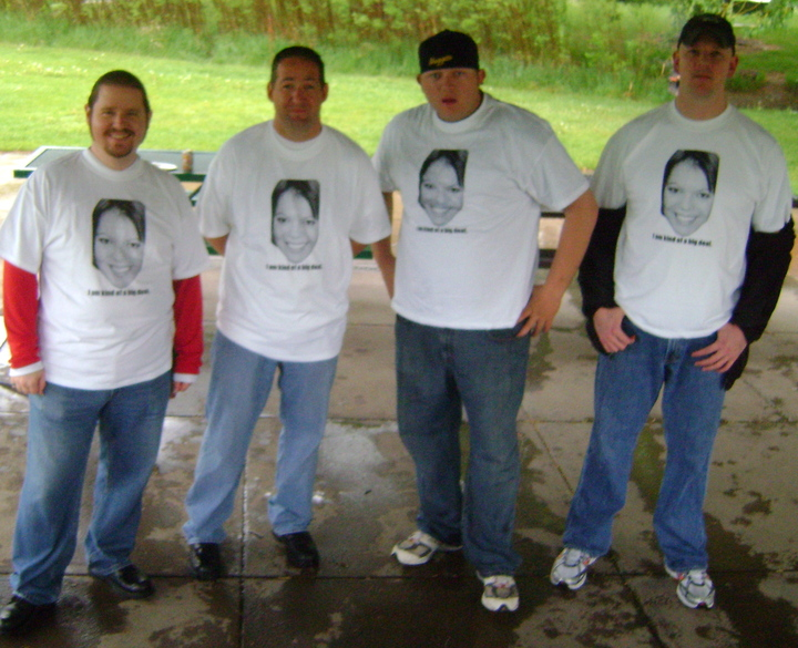 "My Guys Knowing That ""I Am Kind Of A Big Deal."" T-Shirt Photo"