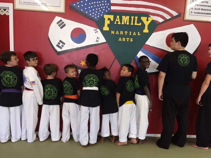 Family Martial Arts Loves Our Custom Ink T Shirts! T-Shirt Photo