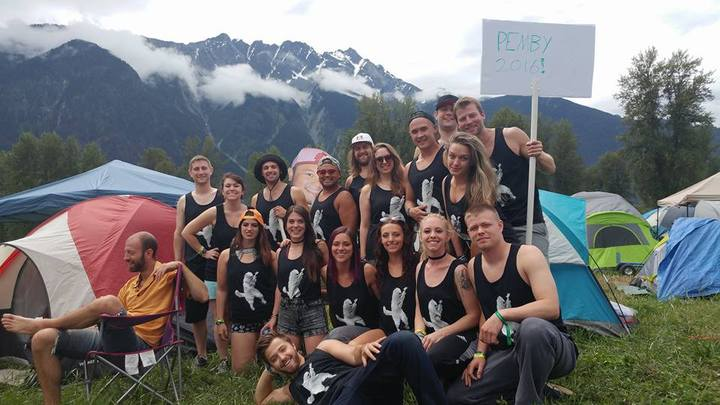 Pemberton Music Festival 2016 B.C. T-Shirt Photo
