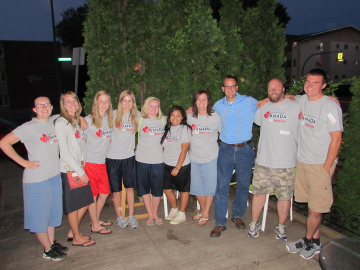 Canada Mission Trip  T-Shirt Photo