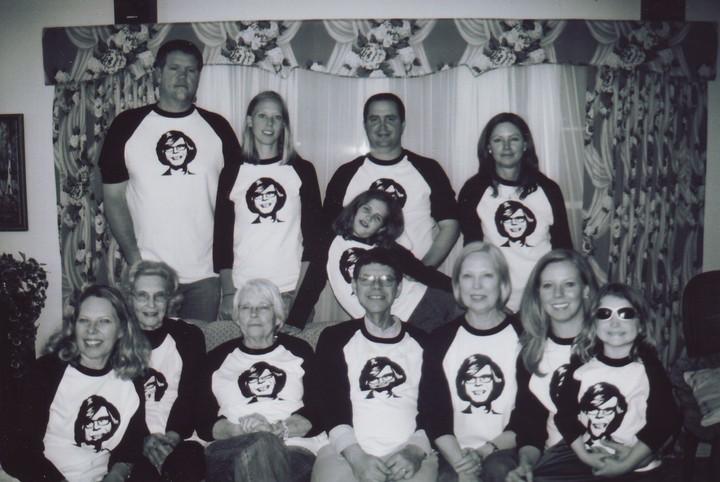 Carter's Big Hair Pic T-Shirt Photo