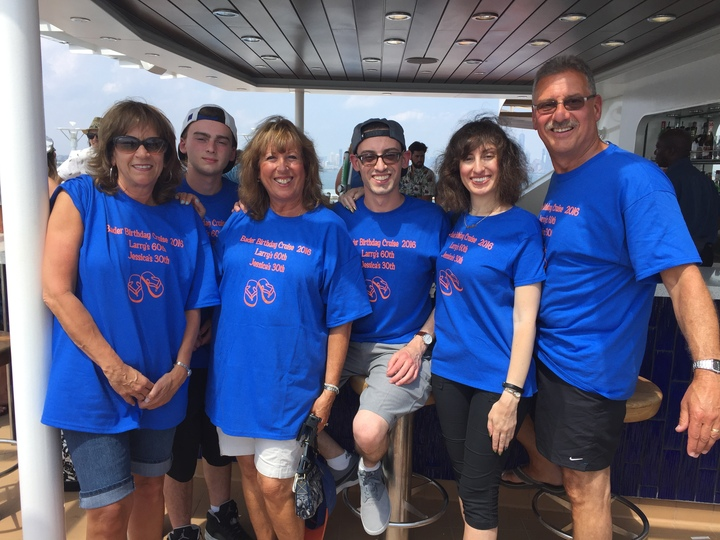 Bader Birthday Cruise T-Shirt Photo