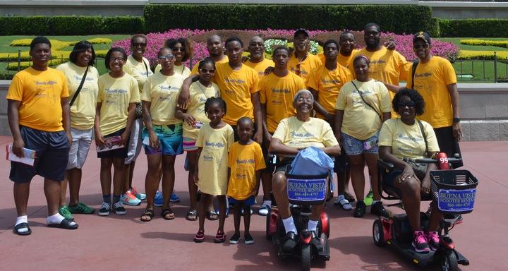 Family At Disney World T-Shirt Photo
