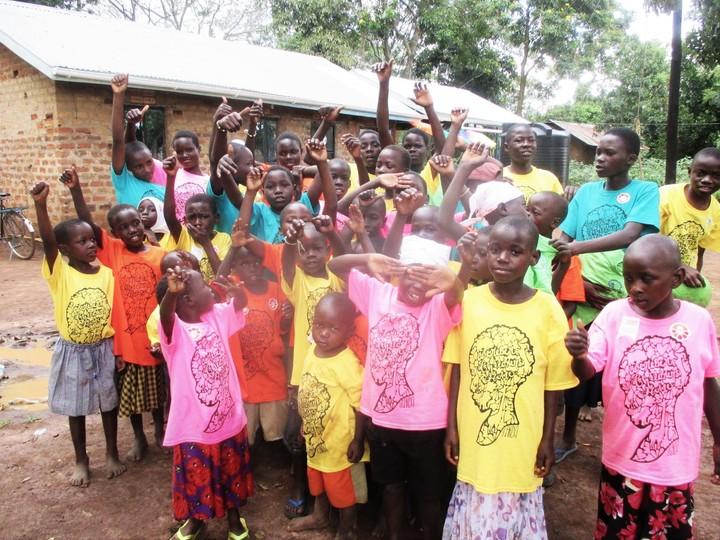 Shirts Bring Joy And Hope To Uganda T-Shirt Photo