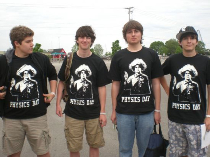 Physics Day 2009 At Cedar Point T-Shirt Photo