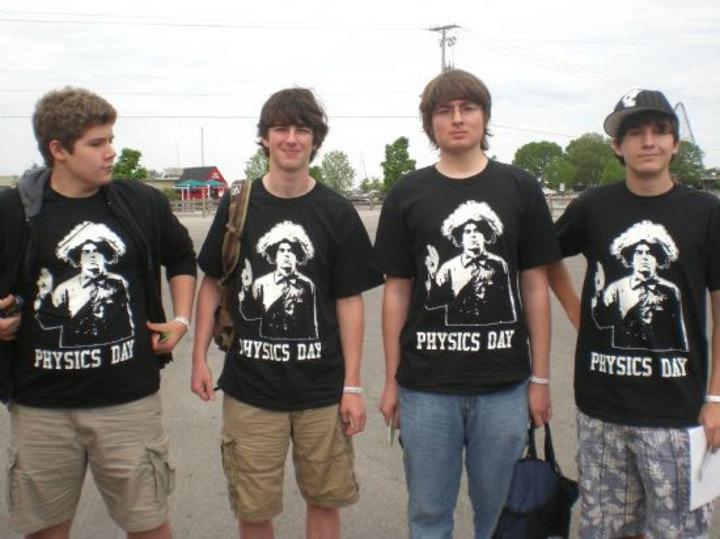 Physics Day 2009 At Cedar Point T-Shirt Photo