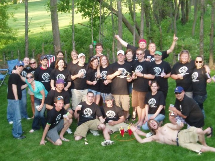 9th Annual Iowa Lawn Darts Tourney T-Shirt Photo