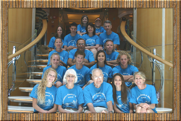 The Cochran Family Cruise T-Shirt Photo