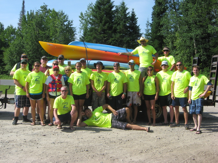 1st Annual Hatch Brook Kayak Run T-Shirt Photo