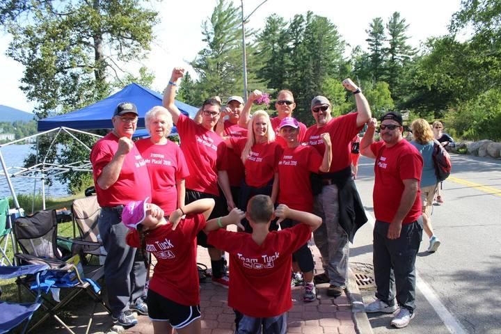 Team Tuck At Ironman Lake Placid T-Shirt Photo