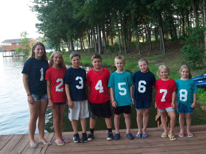 Grandchildren Summer Vacation T-Shirt Photo