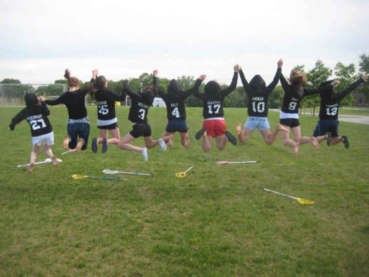 A Day In The Life Of Lacrosse Players. T-Shirt Photo