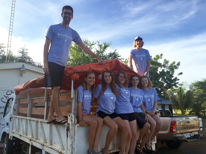 Chapel Students In Nicaragua T-Shirt Photo