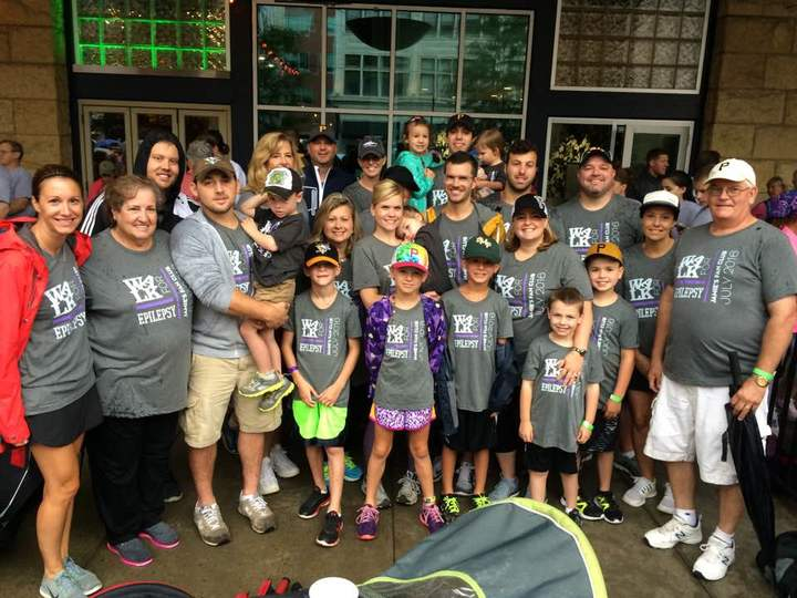 2016 Epilepsy Family Fun Walk! T-Shirt Photo