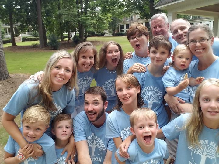Benson Family Reunion T-Shirt Photo