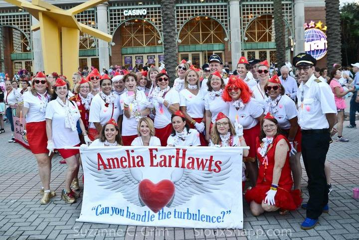 Amelia Ear Hawts  & Cabin Krewe T-Shirt Photo