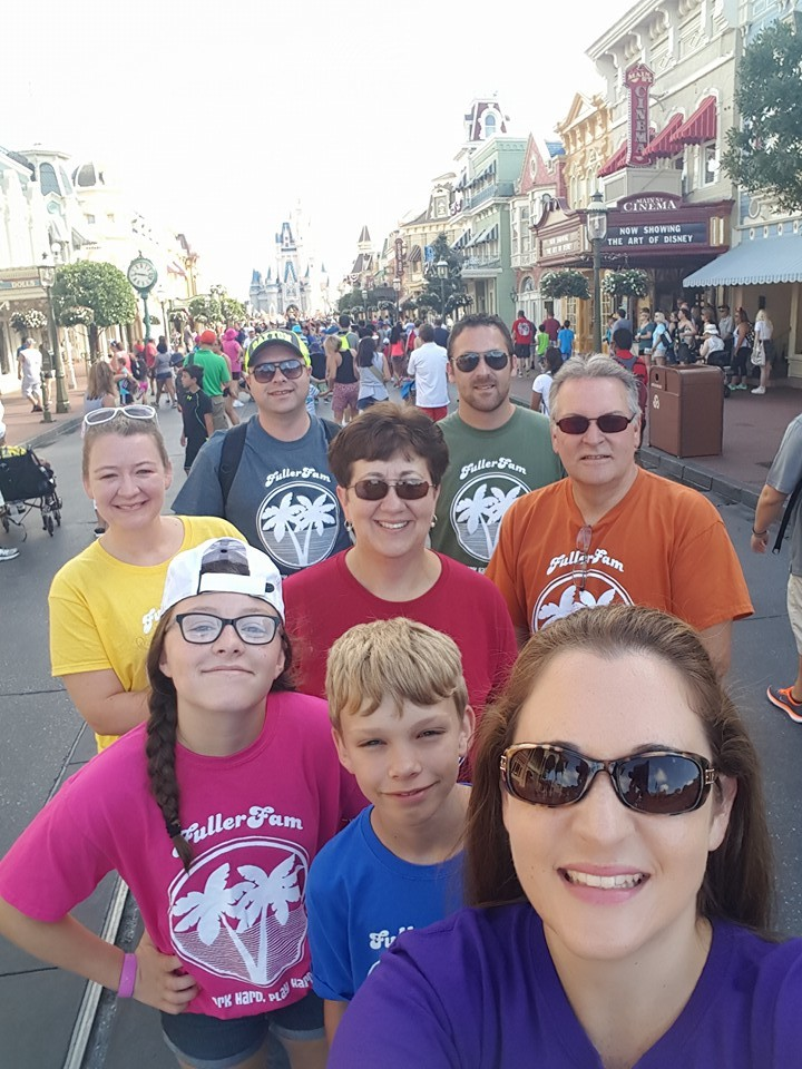 Fuller Family Disney Trip Selfie T-Shirt Photo