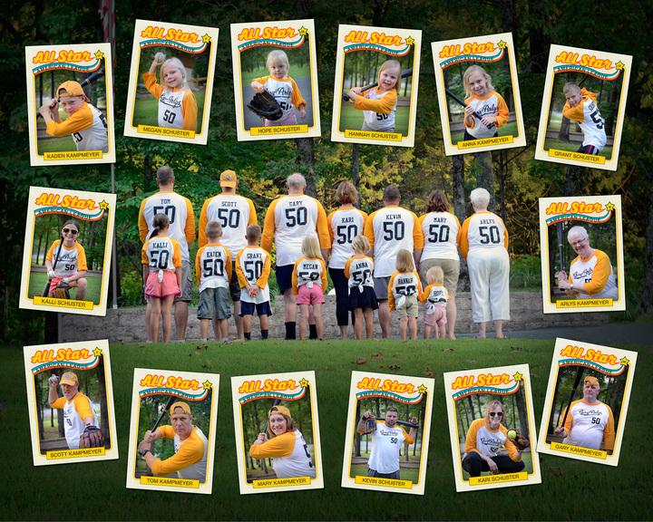 14 All Stars On One Team! T-Shirt Photo
