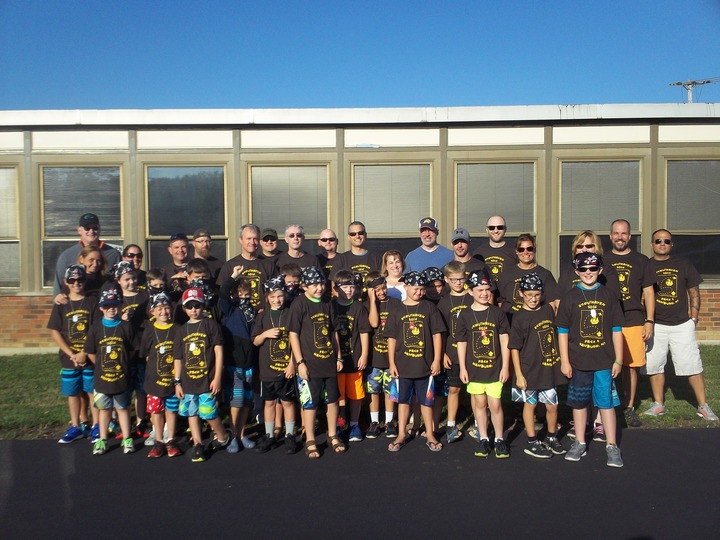 Pack 4 Hamburg Ny Headed For A Weekend Of Fun At Cub Scout Camp! T-Shirt Photo