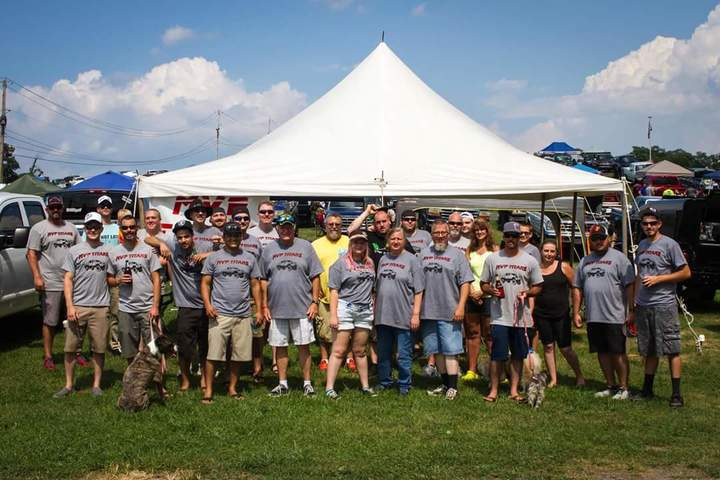 Mvp Titans At Carlisle All Truck Nationals T-Shirt Photo