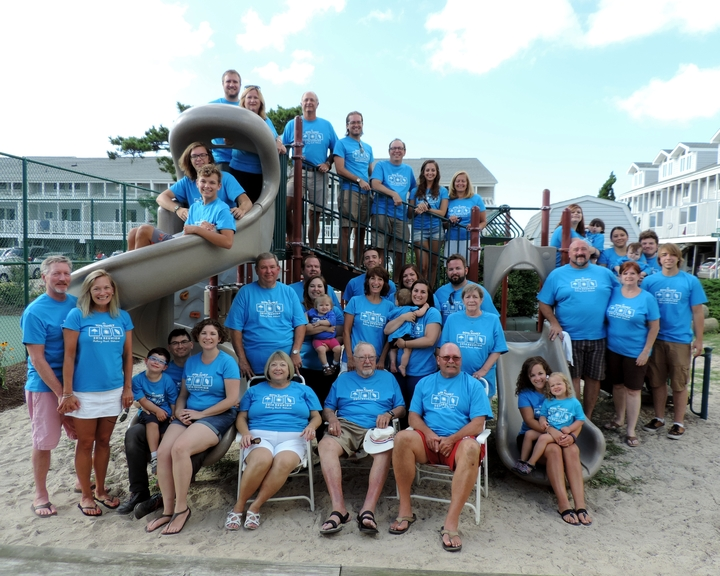 2016 Bethany Beach Family Reunion T-Shirt Photo