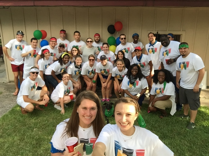 2016 Summer Opening Ceremony Office Olympics T-Shirt Photo