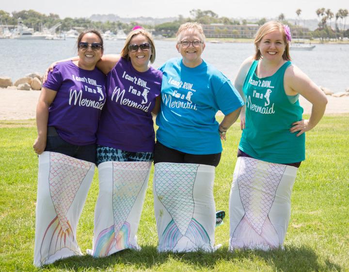 Mermaids For Life T-Shirt Photo