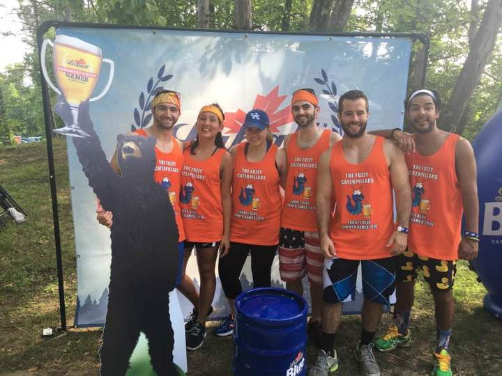 The Fuzzies At The Labatt Games T-Shirt Photo