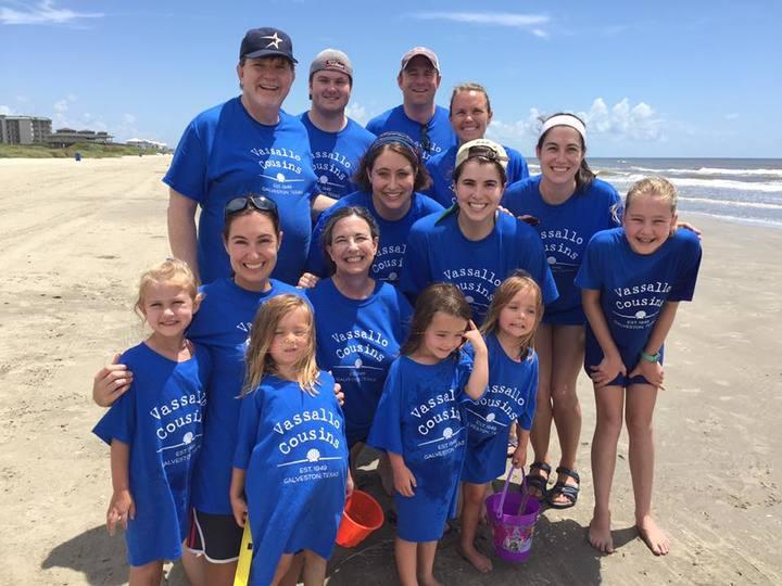 Vassallo Cousins On The Beach  T-Shirt Photo
